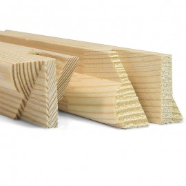 Gallery 38mm UK Pine Stretcher Bars - 16 Inch