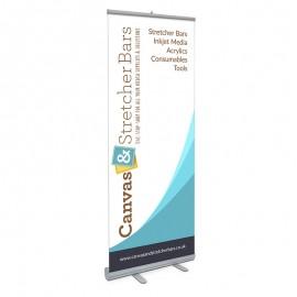 6 x Economical Pop Up Banner Stand 80cm x 200cm