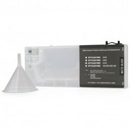 Matte Black Refillable Cartridge for Epson 7600 9600 4000