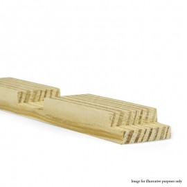"32"" - Gallery 38mm UK Pine Cross Bar Profile B"