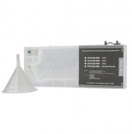 Light Black Refillable Cartridge for Epson 7600 9600 4000