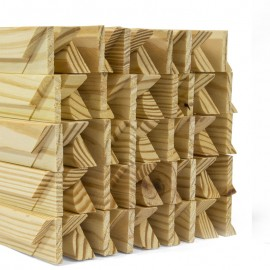 Gallery 38mm UK Pine Stretcher Bars - 16""