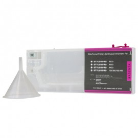 Magenta Refillable Cartridge for Epson 7600 9600 4000