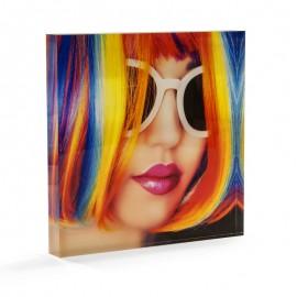 "Acrylic Photo Block  - 5"" x 5"""