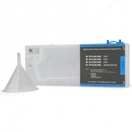 Cyan Refillable Cartridge for Epson 7600 9600 4000