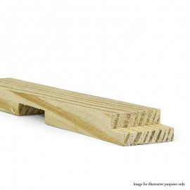 "72"" - Gallery 38mm UK Pine Cross Bar Profile A"
