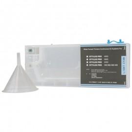 Light Cyan Refillable Cartridge for Epson 7600 9600 4000