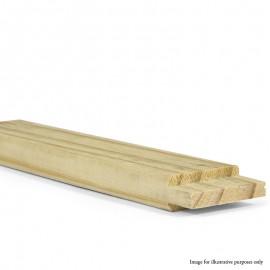 "Straight 18mm Standard Cross Bar - 24"""