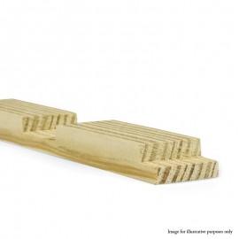 "46"" - Gallery 38mm UK Pine Cross Bar Profile B"